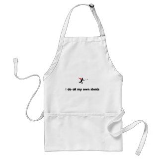 Snow Fighting Hero Adult Apron