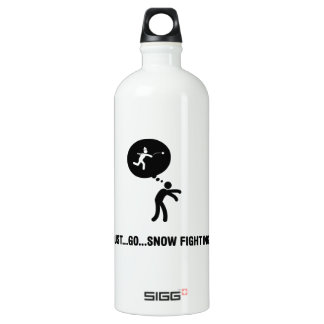 Snow Fighting Water Bottle
