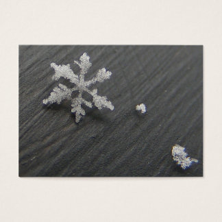 Snow Flake 44 ~ ATC Business Card