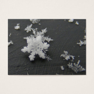 Snow Flake 73 ~ ATC Business Card