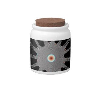 Snow Flake Candy Jars