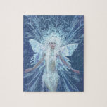 Snow Flake Fairy Queen Jigsaw Puzzle