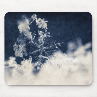Snow Flake Mouse Pad