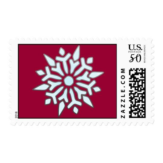 Snow Flake Postage
