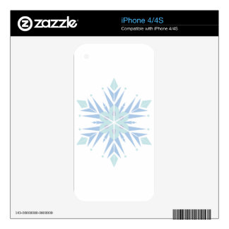 SNOW FLAKE DECALS FOR THE iPhone 4