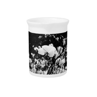 Snow Flaked Paradise Beverage Pitcher