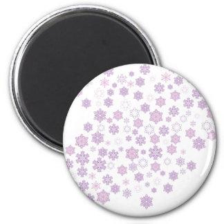 Snow-Flakes-2 Magnet