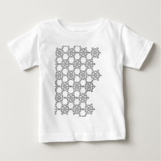 Snow flakes baby T-Shirt