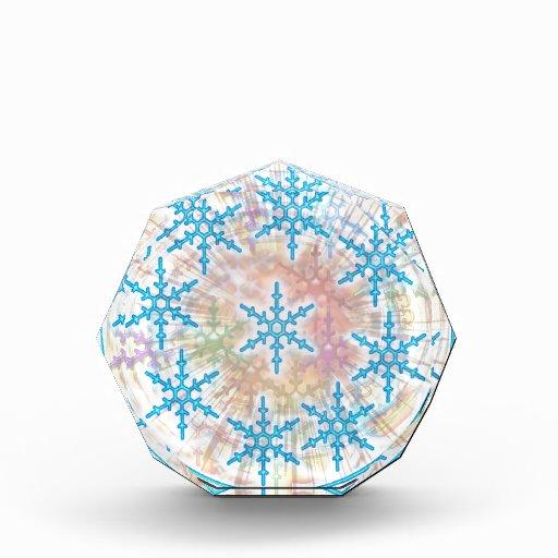 SNOW Flakes Blue Awards