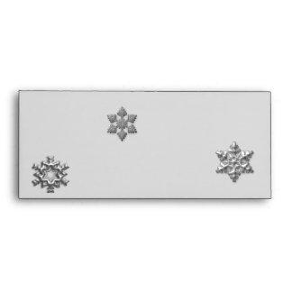 Snow Flakes Envelope