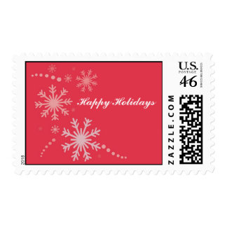Snow flakes stamp