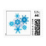 Snow Flakes Postage Stamp