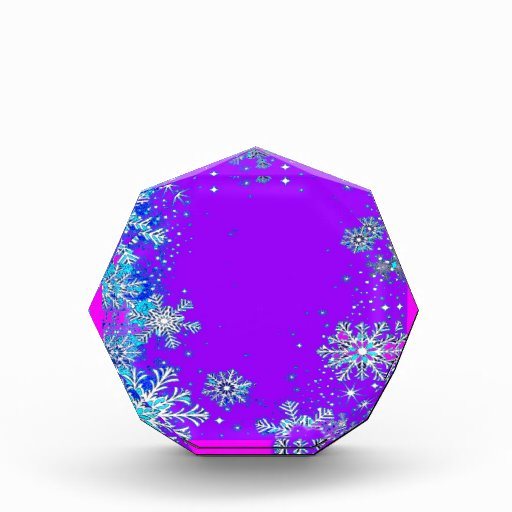 Snow Flakes Purple Twilight By Sharles Award