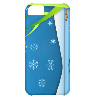 Snow Flakes Scene Cover For iPhone 5C