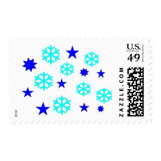 Snow Flakes Stamp
