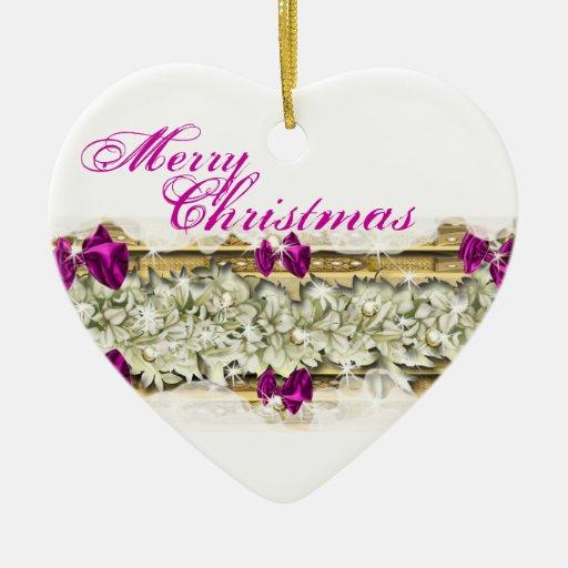 Snow flower Christmas elegance Christmas Ornaments