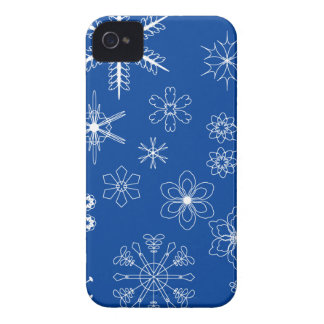 snow flower crystals Case-Mate iPhone 4 case