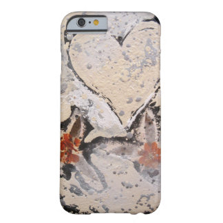 """""""Snow Flower Heart"""" Barely There iPhone 6 Case"""