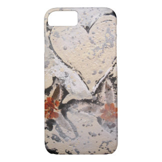 """Snow Flower Heart"" iPhone 7 Case"