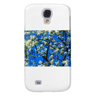 Snow Flowers Galaxy S4 Cover