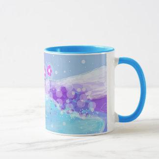 Snow Flowers  mug