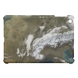 Snow fog and low clouds in western Europe iPad Mini Cover