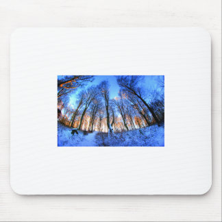 Snow Forest Mouse Pad