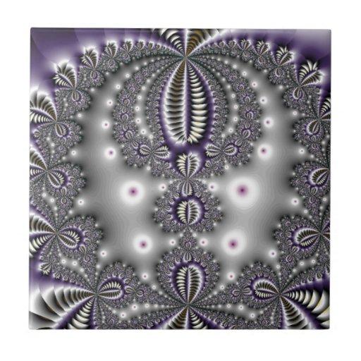 Snow Fractal Ceramic Tiles
