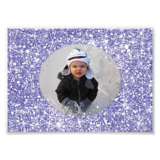 Snow Frame Photo Print