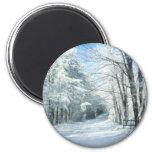 Snow Fridge Magnet