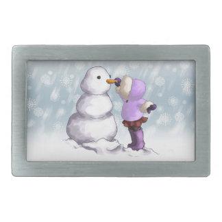 Snow Friend Belt Buckle