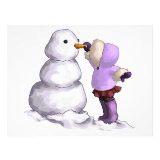Snow Friend Letterhead