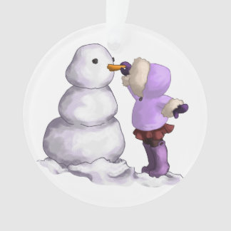 Snow Friend Ornament