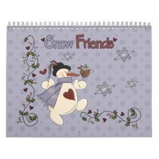 Snow Friends 2011 Calendar