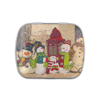 SNOW FRIENDS JELLY BELLY TIN