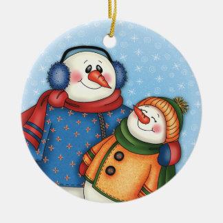 """Snow Friends"" Ornament"