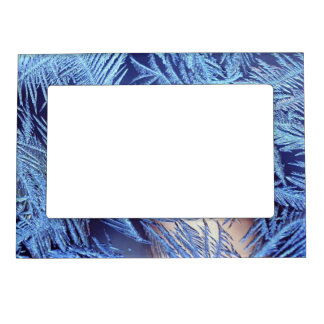 Snow Frost Magnetic Picture Frame