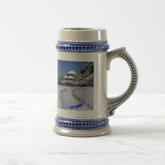snow-garden stein mug