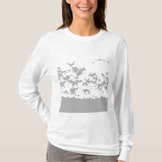 Snow Geese Birds T Shirt