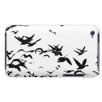 Snow Geese Birds Wildlife Animals Flying Barely There iPod Cover