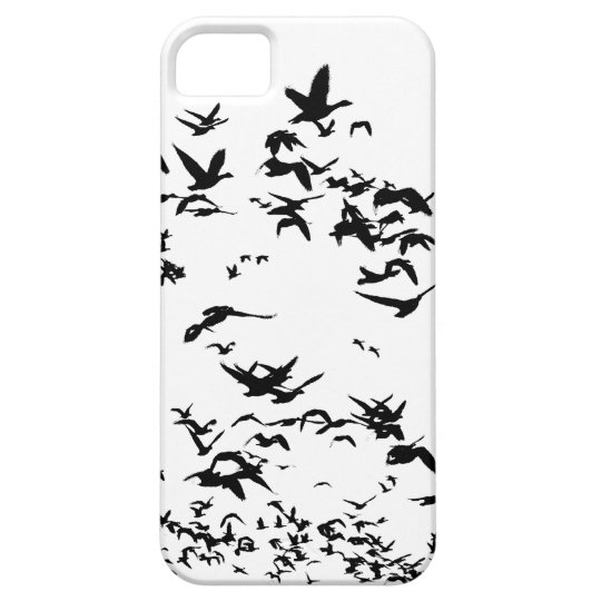Snow Geese Birds Wildlife Animals Flying iPhone SE/5/5s Case
