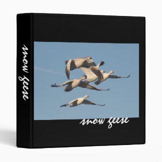 Snow Geese Birds Wildlife Animals Photography Binder
