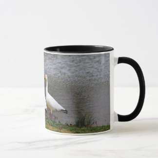 Snow Geese by the Pond Mug