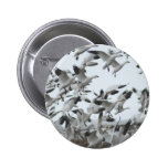 Snow Geese Migration Pin
