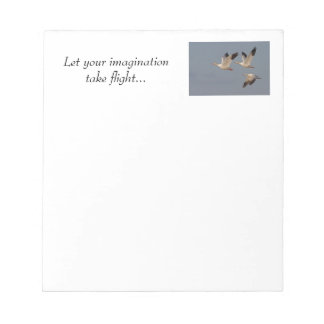 Snow Geese Notepad