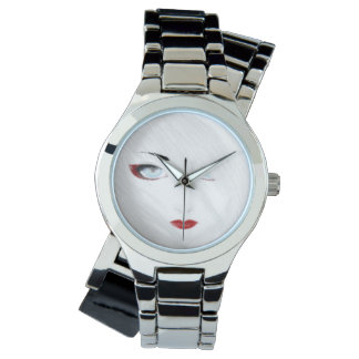 Snow Geisha Anime Wristwatches