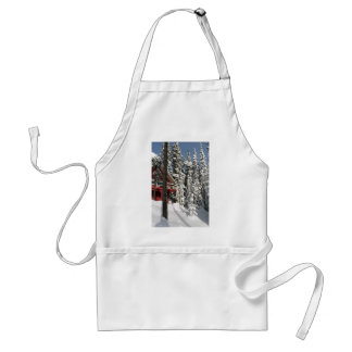 Snow Ghosts in Sunshine Adult Apron