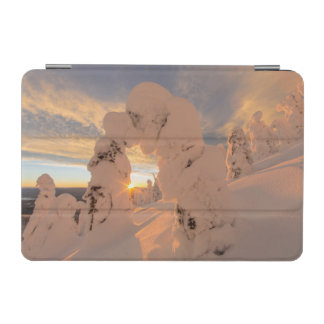 Snow Ghosts In The Whitefish Range iPad Mini Cover