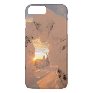 Snow Ghosts In The Whitefish Range iPhone 8 Plus/7 Plus Case