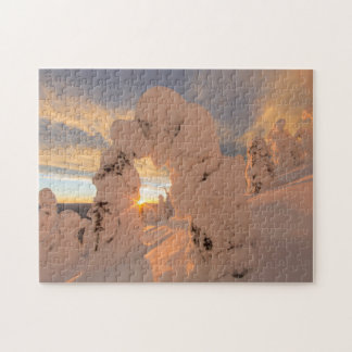 Snow Ghosts In The Whitefish Range Jigsaw Puzzle